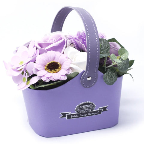 Bouquet Petite Basket - Soft Lavender - Gift2U.co.uk - Unique gifts online to You