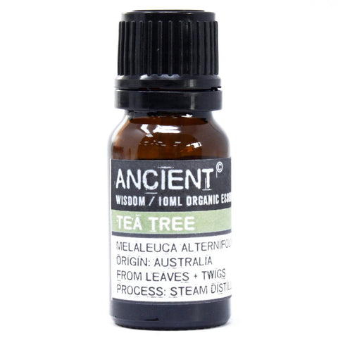 Tea Tree Organic Essential Oil 10ml - Gift2U.co.uk - Unique gifts online to You