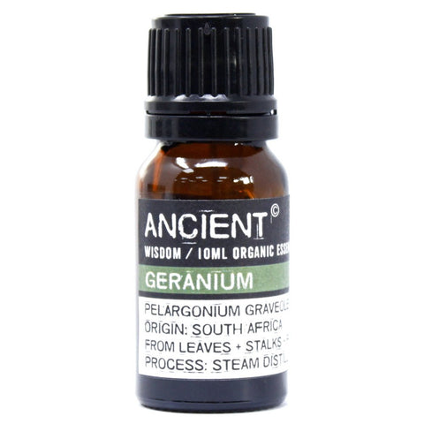 Geranium Organic Essential Oil 10ml - Gift2U.co.uk - Unique gifts online to You