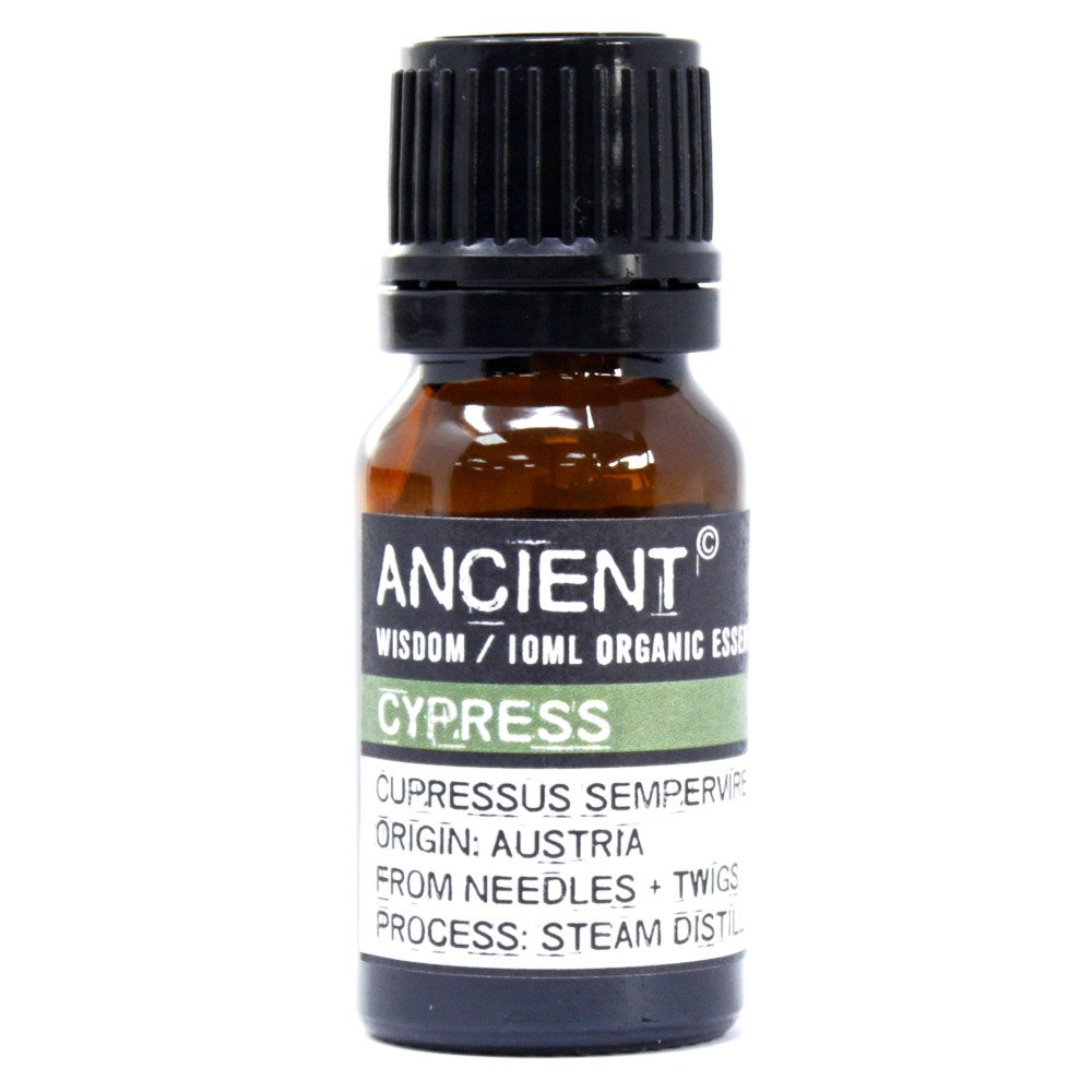 Cypress Organic Essential Oil 10ml - Gift2U.co.uk - Unique gifts online to You