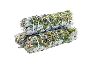 Smudge Stick - White Sage & Ruda 10cm - Gift2U.co.uk - Unique gifts online to You
