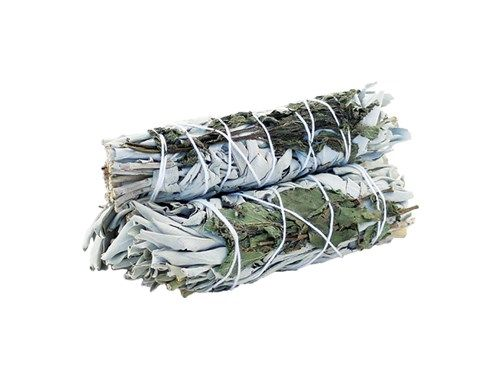 Smudge Stick - White Sage & Peppermint 10cm - Gift2U.co.uk - Unique gifts online to You