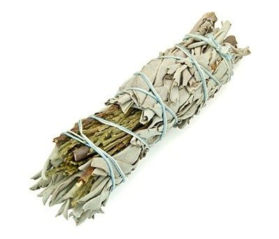 Smudge Stick - White Sage & Cedar 10cm - Gift2U.co.uk - Unique gifts online to You
