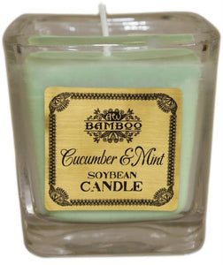 Cucumber & Mint Soybean Jar Candles - Gift2U.co.uk - Unique gifts online to You