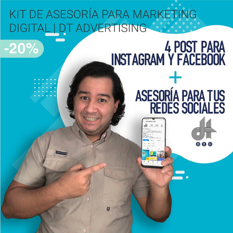Kit de Asesoría para Marketing Digital | DT Advertising