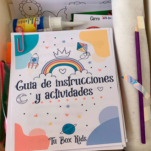 Kit Infantil | Tu Box Kids