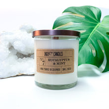 Load image into Gallery viewer, 12 oz Glass Jar - Eucalyptus & Mint