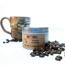Load image into Gallery viewer, 8 oz Tin Candle - Fresh Coffee