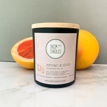 12 oz Glass Grapefruit & Vetiver