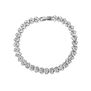 Introducing our sell out tennis bracelet giving it the name 'Famous Bracelet' Clasp closure
