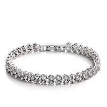 Load image into Gallery viewer, Introducing our sell out tennis bracelet giving it the name 'Famous Bracelet'