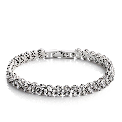 Introducing our sell out tennis bracelet giving it the name 'Famous Bracelet'