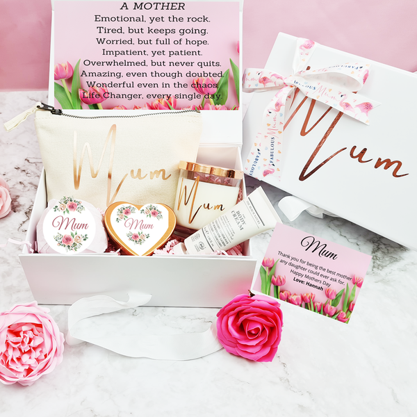 Personalised Spa Mothers Day Gift Set
