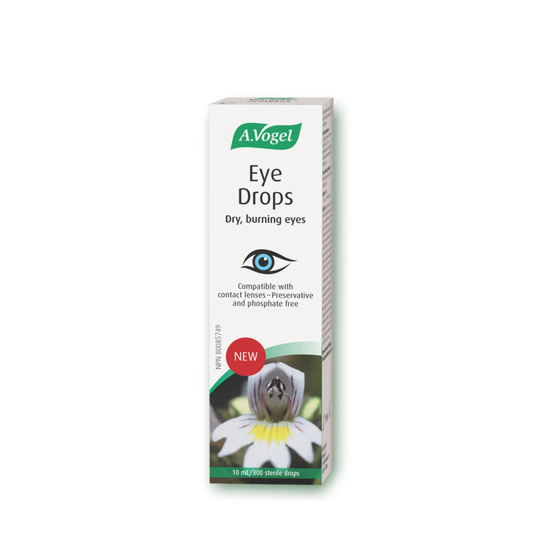 A.Vogel Eye Drops For Dry, Irritated, Tired eyes 10ml - Maple House Nutrition Inc.