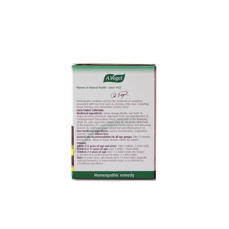 A.Vogel Allergy Relief 120 Tablets - Maple House Nutrition Inc.