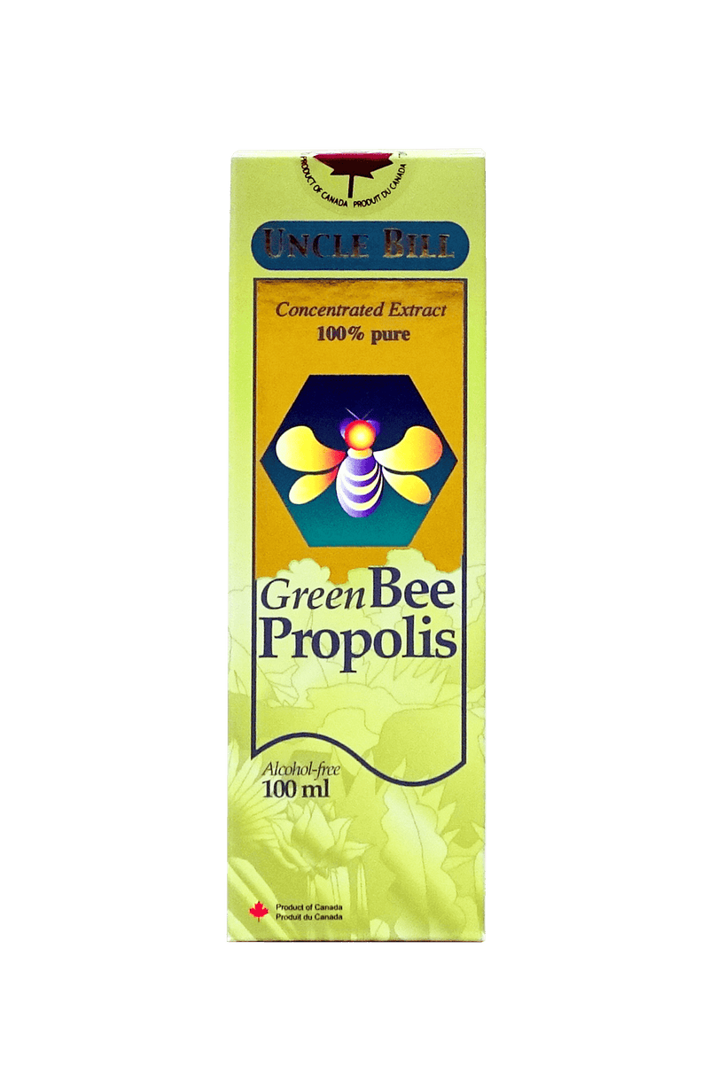 Bill Green Bee Propolis Concentrated Extract 100 ml - Maple House Nutrition Inc.