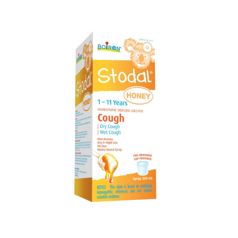 Boiron Stodal Honey 1-11 Years Cough Syrup 200ml - Maple House Nutrition Inc.
