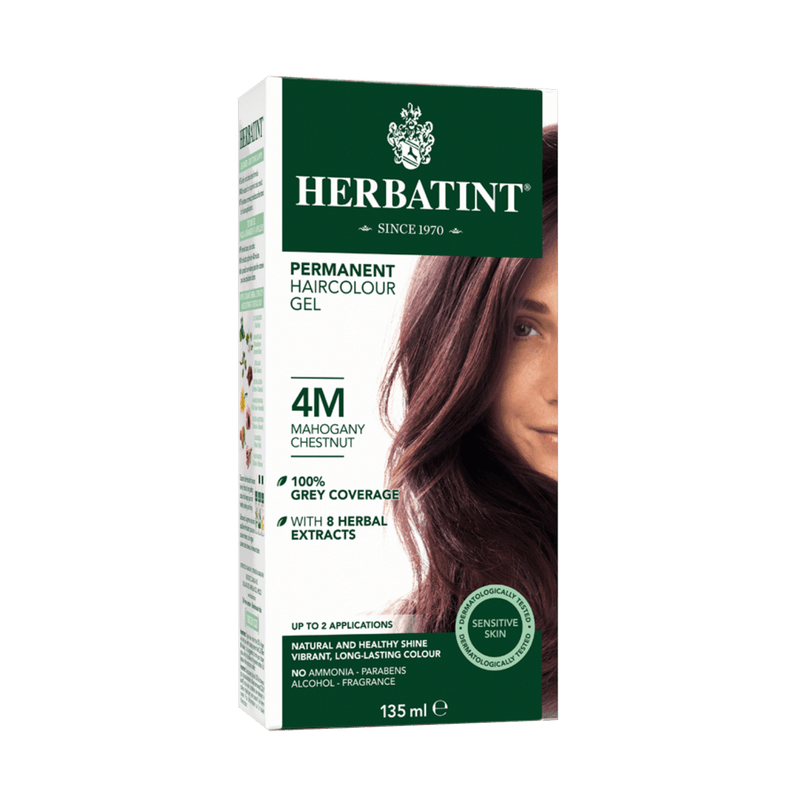 Herbatint Permanent Haircolour Gel 4M -Mahogany Chestnut 135ml - Maple House Nutrition Inc.