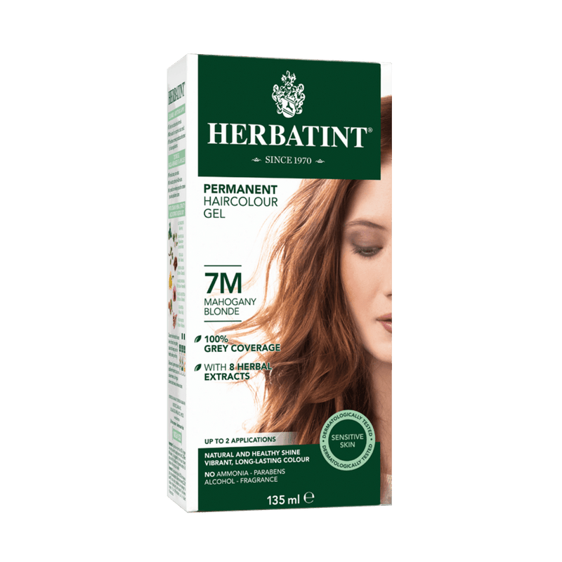 Herbatint Permanent Haircolour Gel 7M -Mahogany Blonde 135ml - Maple House Nutrition Inc.