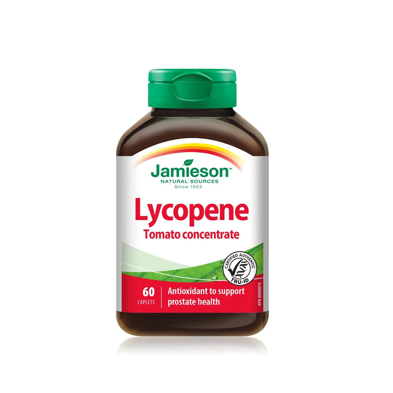 Jamieson Lycopene Tomato Concentrate 60 Caplets - Maple House Nutrition Inc.