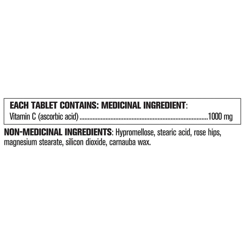 Kirkland Signature Timed Release Vitamin C 1000mg 500 Tablets - Maple House Nutrition Inc.