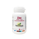 New Roots Herbal Zinc 25mg 90 Vegetarian Capsules - Maple House Nutrition Inc.