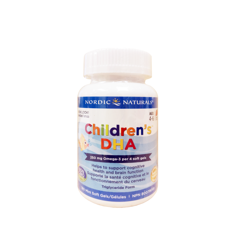 Nordic Naturals Children's DHA 180 Softgels - Maple House Nutrition Inc.