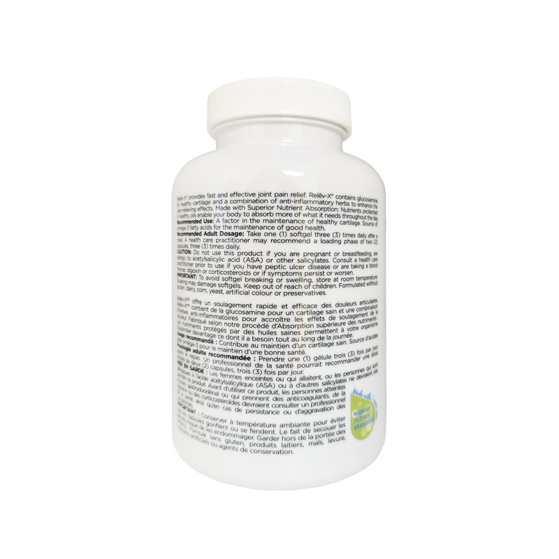Platinum Nutri-Joint Relev-X 90 Softgels - Maple House Nutrition Inc.