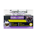 Sambucol Black Elderberry Cold&Flu 24 Chewable Tablets - Maple House Nutrition Inc.