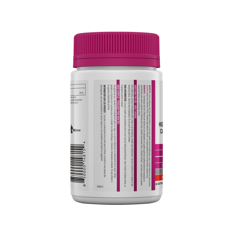 Swisse Ultiboost High Strength Cranberry 60 Softgels - Maple House Nutrition Inc.