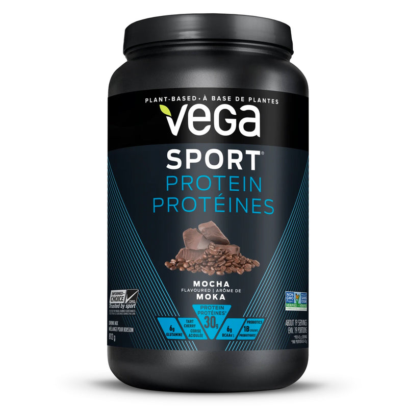 Vega Sport Performance Protein Mocha 812g - Maple House Nutrition Inc.