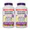 Webber Naturals  Glucosamine Chondroitin Sulfate 900mg 300 Capsules 2 Packs - Maple House Nutrition Inc.