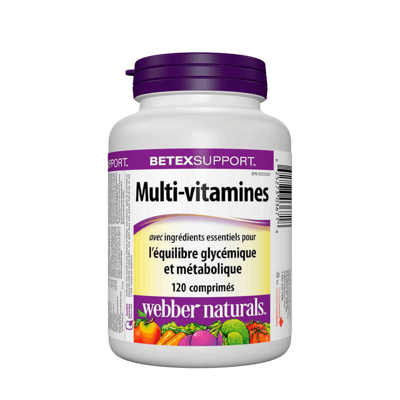 Webber Naturals Multi Vitamin 120 Tablets - Maple House Nutrition Inc.