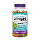 Webber Naturals Triple Strength Omega-3 900mg 200 Softgels - Maple House Nutrition Inc.