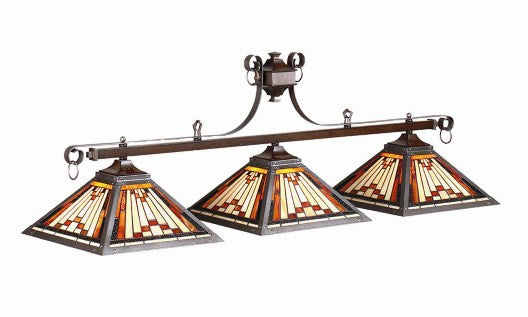Stained Glass Billiard Light: 25-B54