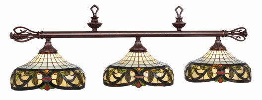 Stained Glass Billiard Light: 34-B60