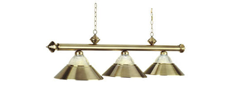 Metal Shades Billiard Light: B48-RIB AB