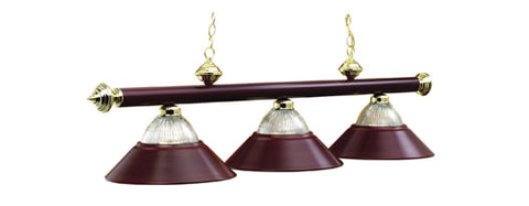Metal Shades Billiard Light: B48-RIB BG