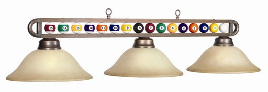 Glass Shades Billiard Light: BB-55 BZ