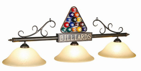 Glass Shades Billiard Light: BIL-B56