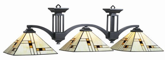 Stained Glass Billiard Light: BRK-B60