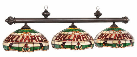 Stained Glass Billiard Light: CF50-B56