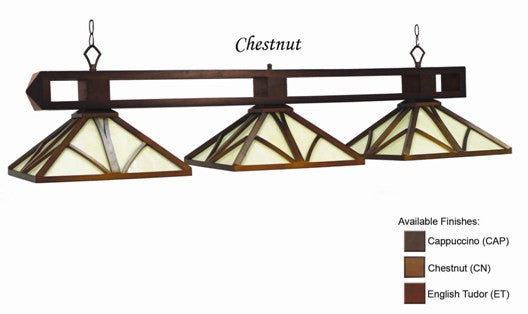 Stained Glass Billiard Light: CHA-B56 CN