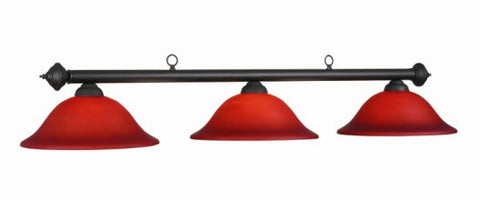 Glass Shades Billiard Light: MAR-B60 BG