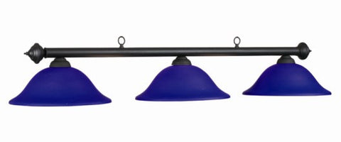 Glass Shades Billiard Light: MAR-B60 BL