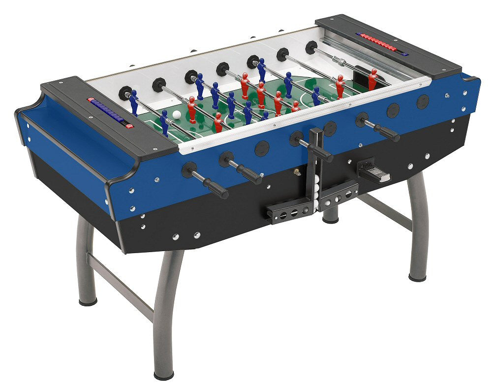 F A S Quot Striker Quot Blue Coin Op Foosball Table Billiard