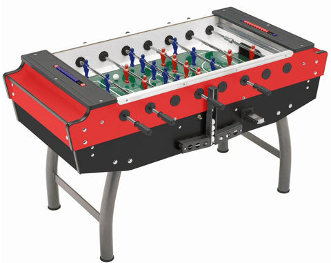 "F.A.S. ""STRIKER"" Red Coin-Op Foosball table"