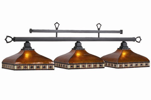 Stained Glass Billiard Light: TAH-B56