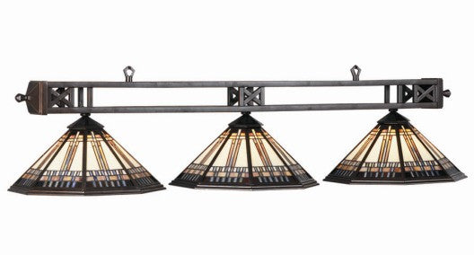 Stained Glass Billiard Light: WSL-B54