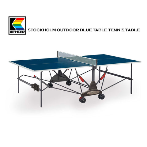 "Kettler ""STOCKHOLM"" OUTDOOR Table Tennis Table"